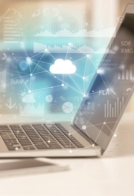unified communication cloud - laptop